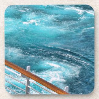 Bahamas Cruise - Turquoise Wake Coasters