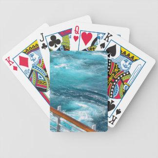 Bahamas Cruise - Turquoise Wake Bicycle Playing Cards