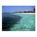 bahamas crystal clear postcard