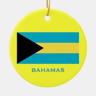 BAHAMAS* Custom Christmas Ornament