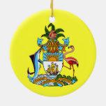 BAHAMAS Custom Christmas Ornament