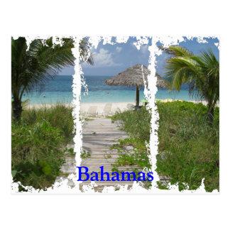 Bahamas Distressed 3 Postcard