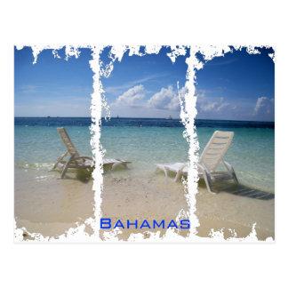 Bahamas Distressed Postcard