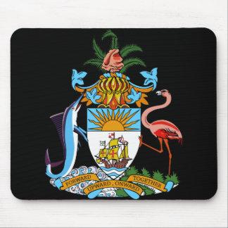 bahamas emblem mouse pad