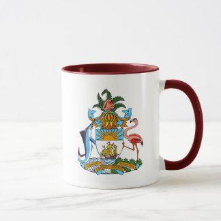 bahamas emblem mug