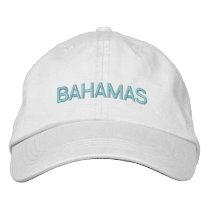 BAHAMAS EMBROIDERED BASEBALL HAT