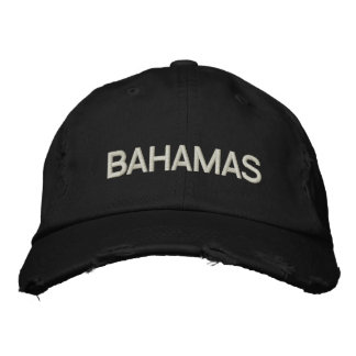BAHAMAS (EMBROIDERED) EMBROIDERED BASEBALL CAP