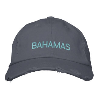 BAHAMAS EMBROIDERED HATS