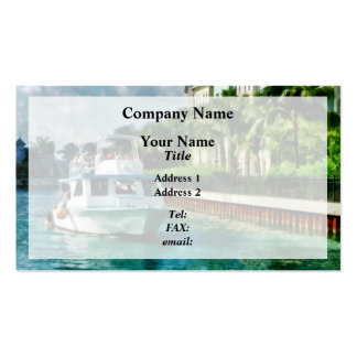 Bahamas - Ferry to Paradise island Business Card