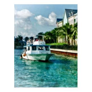 Bahamas - Ferry to Paradise island Postcard