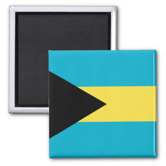 Bahamas Flag 2 Inch Square Magnet