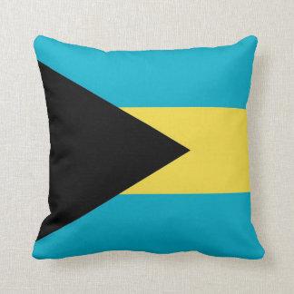 Bahamas Flag American MoJo Pillow