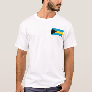Bahamas Flag and Map T-Shirt