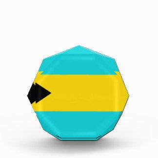 Bahamas Flag Acrylic Award
