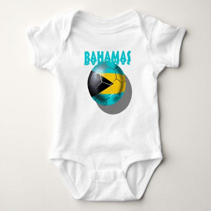 Bahamas flag - Bahaman Caribbean flag Baby Bodysuit