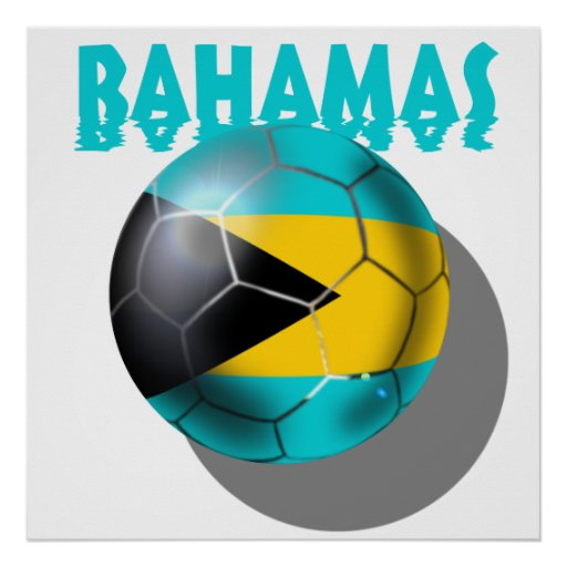 Bahamas flag - Bahaman Caribbean flag Poster