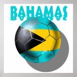 Bahamas flag - Bahaman Caribbean flag Posters