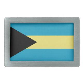 Bahamas flag belt buckle