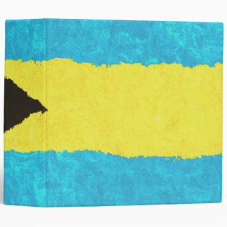 BAHAMAS FLAG 3 RING BINDERS