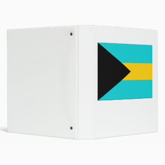 Bahamas Flag Binder