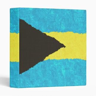 BAHAMAS FLAG VINYL BINDERS