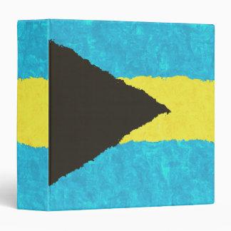 BAHAMAS FLAG VINYL BINDER