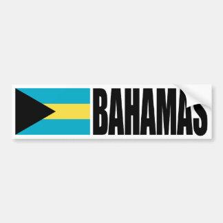 Bahamas Flag Car Bumper Sticker