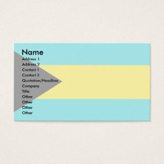 Bahamas Flag Business Card