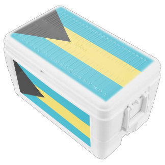 Bahamas flag chest cooler