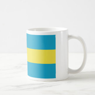 Bahamas flag coffee mug
