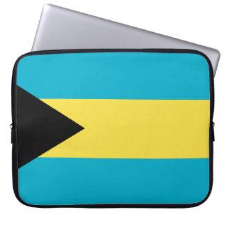 Bahamas Flag Computer Sleeve