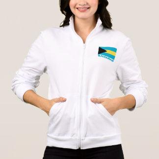 Bahamas Flag Customizable Blue Text Jacket