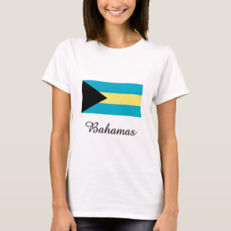 Bahamas Flag Design T-Shirt