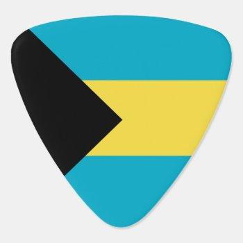 Bahamas Flag Guitar Pick by wowsmiley at Zazzle