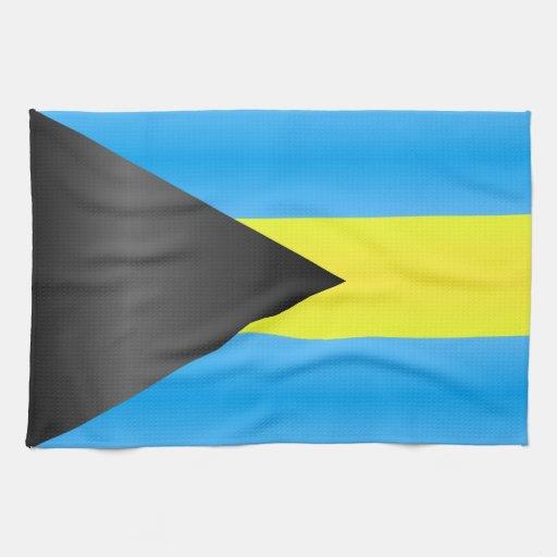 Bahamas Flag Hand Towel Zazzle