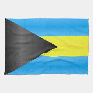 Bahamas Flag Hand Towels