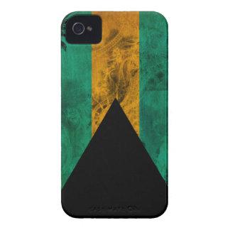 Bahamas Flag iPhone 4 Case-Mate Case