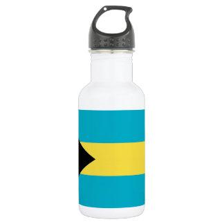 Bahamas Flag Liberty Bottle 18oz Water Bottle