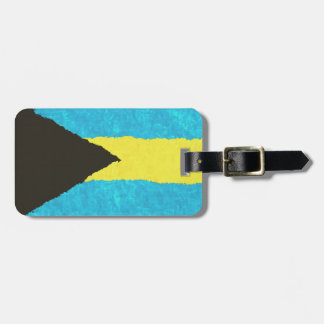 BAHAMAS FLAG LUGGAGE TAG