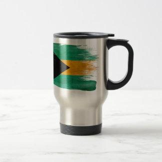 Bahamas Flag 15 Oz Stainless Steel Travel Mug