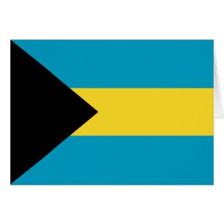 Bahamas Flag Notecard Stationery Note Card