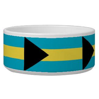 Bahamas Flag Pet Bowl