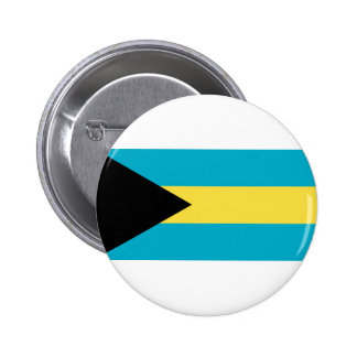 Bahamas Flag Pinback Button