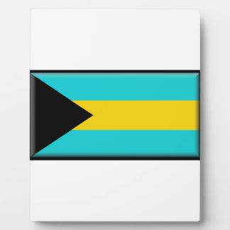 Bahamas Flag Plaque