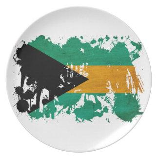 Bahamas Flag Dinner Plates