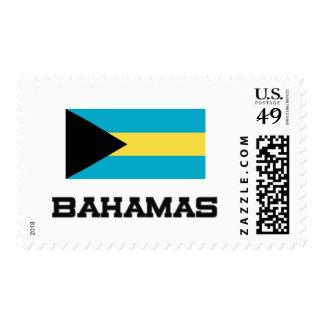 Bahamas Flag Postage