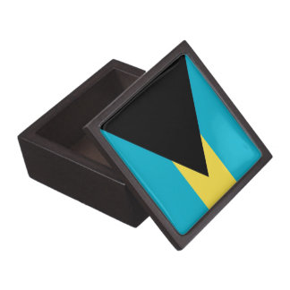 Bahamas Flag Premium Gift Box