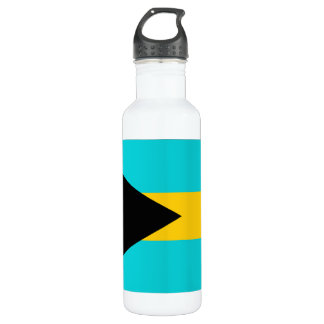 Bahamas Flag Stainless Steel Water Bottle