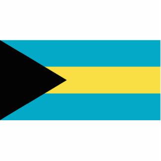 Bahamas Flag Statuette