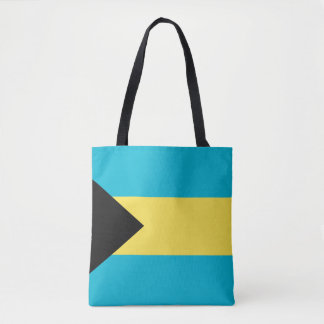 Bahamas Flag Tote Bag
